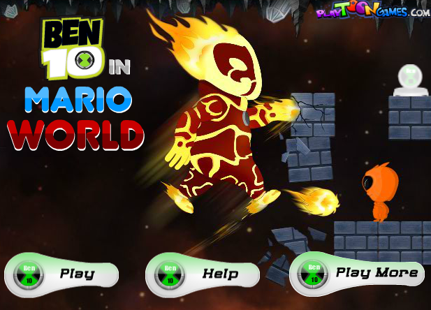Ben 10 In Super Mario World