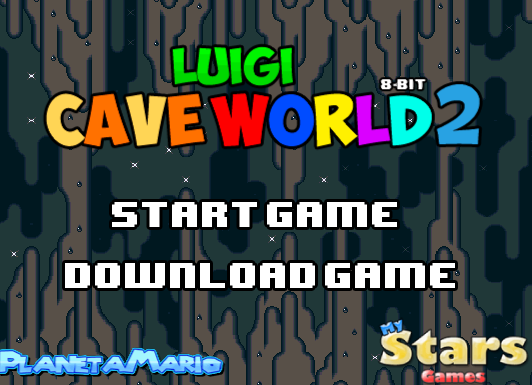 Mario Bros Luigi Cave World 2