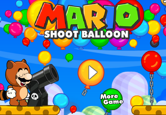 Super Mario Shot Bloons