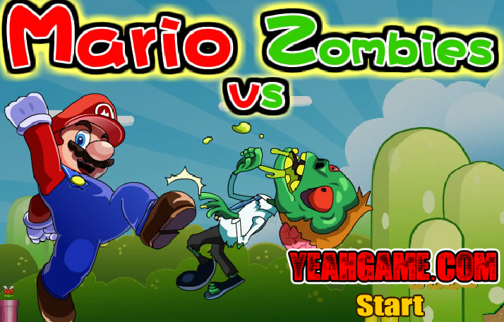 Mario Vs Zombies Defense