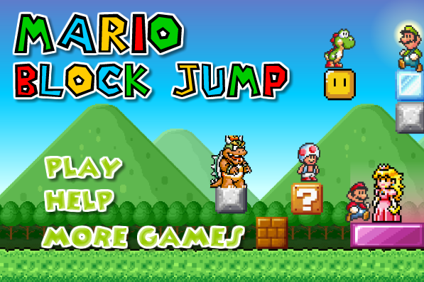 Mario Block Jumps