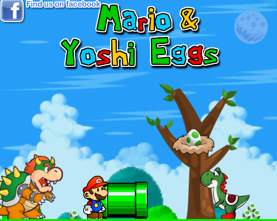 Super Mario And Yoshi Eggs