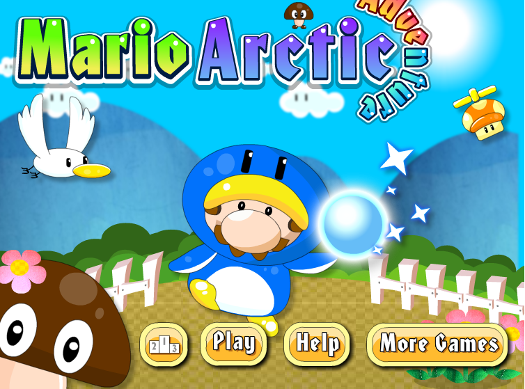 Super Mario Arctic Adventure