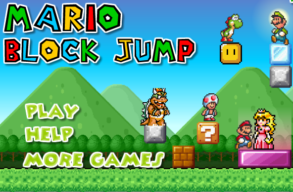 Super Mario Bros Block Jump