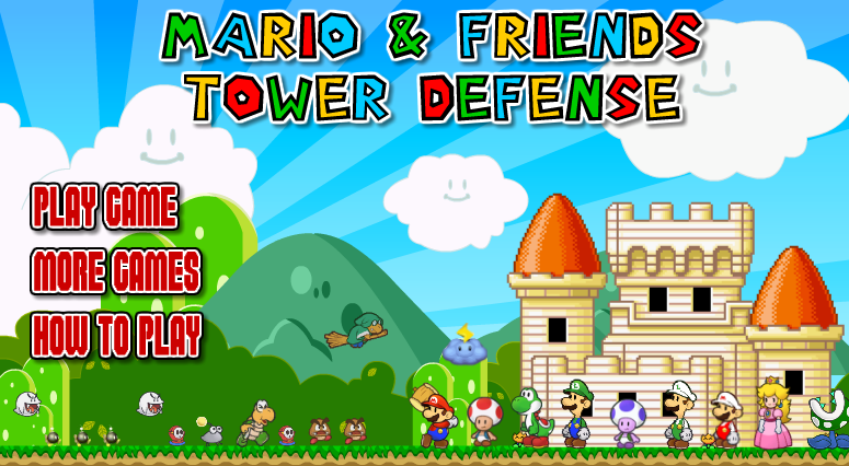 Super Mario Bros Defence