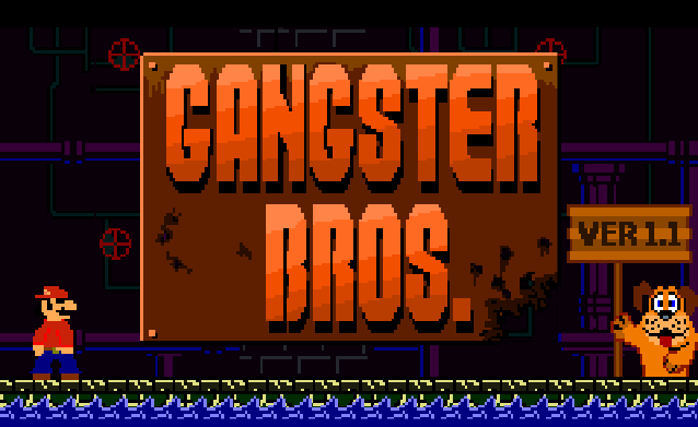 Super Mario Bros Gangster