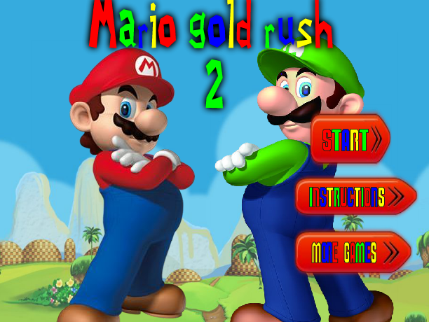 Super Mario Bros : Gold Rush 2