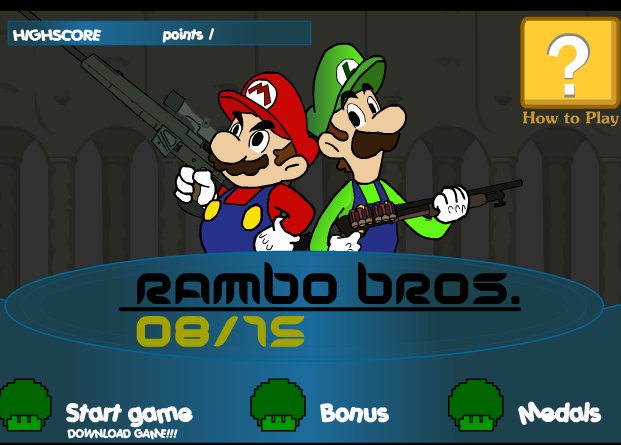 Super Mario Bros Rambo