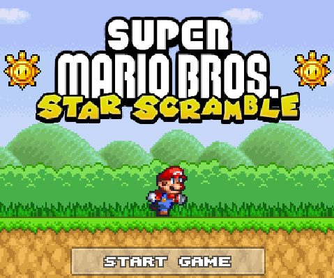Super Mario Bros Star Scramble