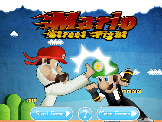 Super Mario Bros Street Fight