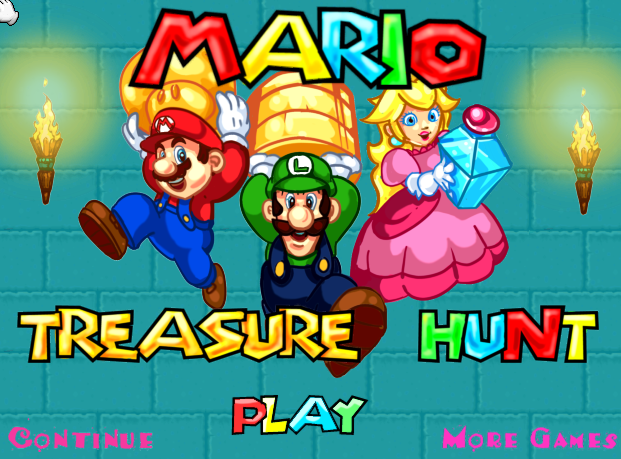 Super Mario Bros Treasure Hunt