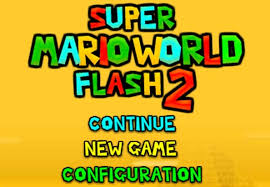 Super Mario Bros World Flash 2