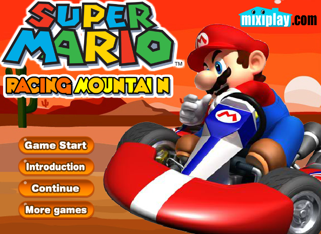 Super Mario Racing Mountain