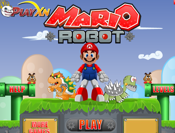 Super Mario The Robot