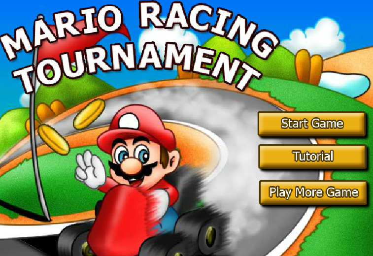 Super Mario Bros Racing Tournament