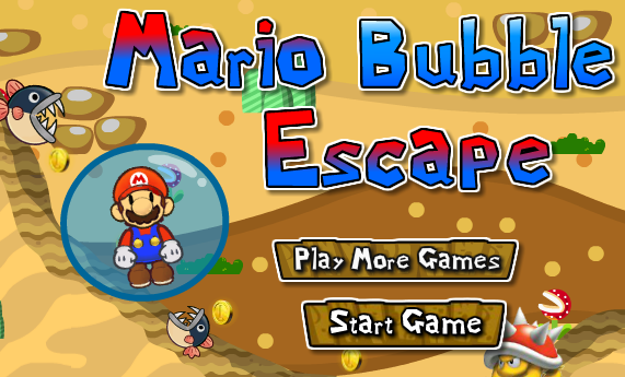 Super Mario Bubble Escape