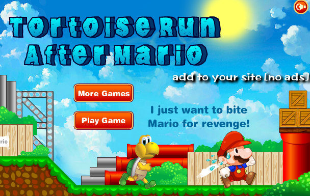 Tortoise Run After Super Mario